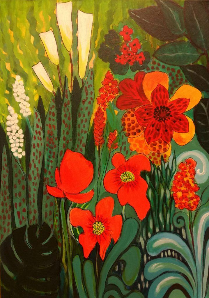 Viidakon kukat_Leena Hietamies